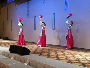 The performance - traditional Korean dance
